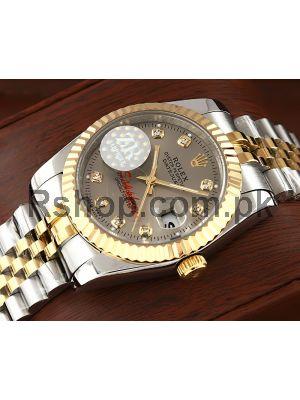 Rolex Datejust Gray Dial Swiss Watch Price in Pakistan