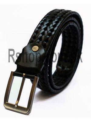 Black Leather Men's Belt  Price in Pakistan