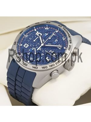 Porsche Design Blue Dial Blue Rubber Straps Watch Price in Pakistan