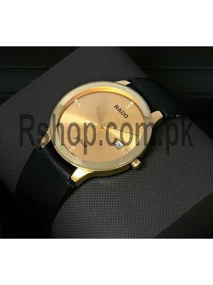 Rado Centrix Gold Dial Watch Price in Pakistan