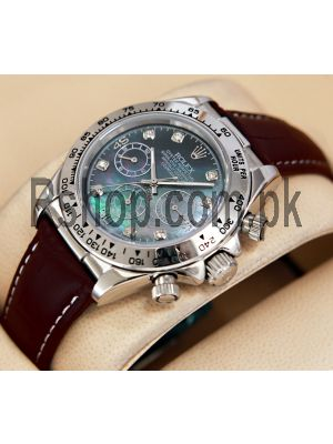 Rolex Cosmograph Daytona Pearl Dial Exclusive Quality Watch Price in Pakistan
