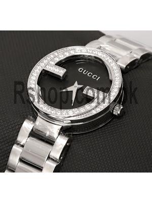 Gucci Interlocking G Black Dial Ladies Watch Price in Pakistan