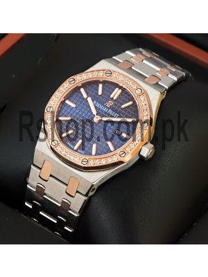 Audemars Piguet Royal Oak Ladies Blue Dial Watch Watch Price in Pakistan