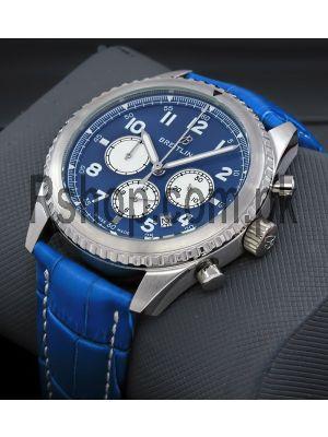 Breitling Aviator 8 Blue Chronograph Watch Price in Pakistan