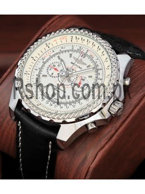 Breitling Bentley Super Sports White Dial Watch Price in Pakistan