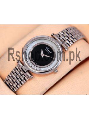 Chopard Happy Diamonds Black Dial Ladies Watch Price in Pakistan
