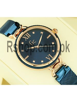 Gc Cable Chic Mesh Band Blue Watch Price in Pakistan