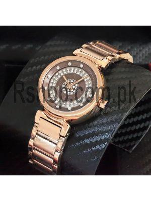Louis Vuitton Tambour Rose Gold Watch Price in Pakistan