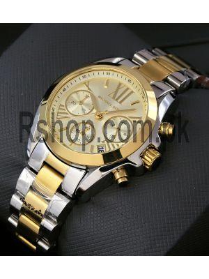 Michael Kors MK5974 Womens Bradshaw Gold Dial Watch Price in Pakistan