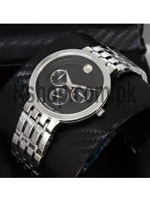 Movado Men's Black Dial Watch Price in Pakistan