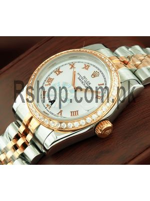 Rolex Datejust Two Tone Watch Price in Pakistan