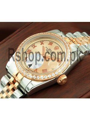 Rolex Lady-Datejust Diamond Bezel Watch Price in Pakistan