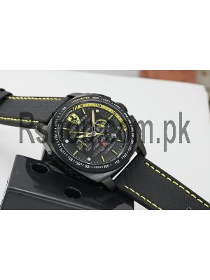 Scuderia Ferrari Black Yellow Watch Price in Pakistan