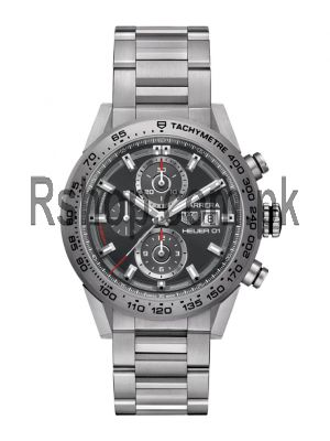 TAG Heuer Carrera Calibre HEUER 01 Gray Dial Watch Price in Pakistan
