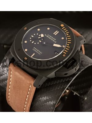 Panerai Luminor Submersible Black  Ceramic  replica Watch,
