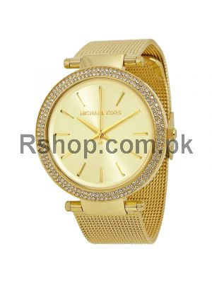 High quality replica Michael Kors Darci Gold Tone Stainless Steel Ladies watches,