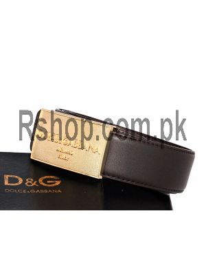 Dolce and Gabbana Men,s Belt Price in Pakistan