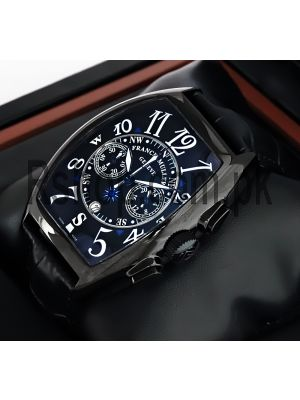 Franck Muller Geneve Black Watch Price in Pakistan
