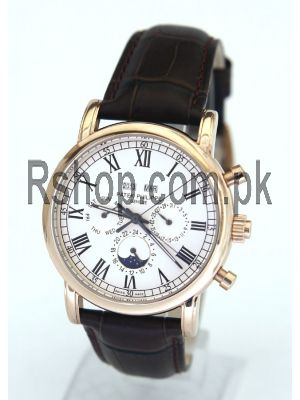 Patek Philippe Geneve Swiss Quartz with Chronograph Watch Price in Pakistan