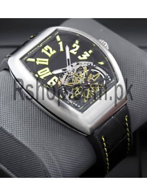 Franck Muller Vanguard Yachting Gravity Tourbillon Watch  Price in Pakistan