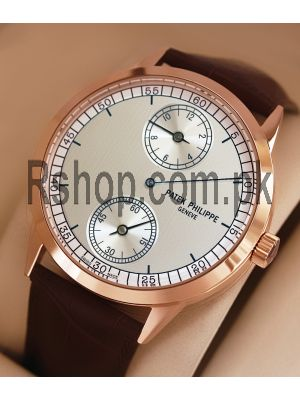 Patek Philippe Geneve with a regulator dial Brown Leather Watch  Price in Pakistan