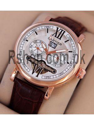 Calibre de Cartier Flying Tourbillon Automatic Watch Price in Pakistan