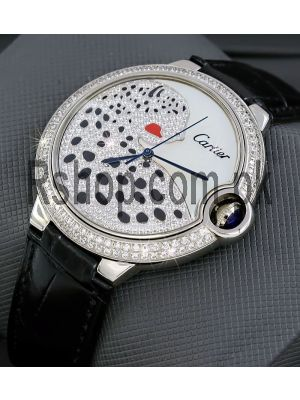 Cartier Ballon Bleu Leopard Watch Price in Pakistan