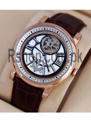 Cartier Flying Tourbillon Strap Watch  Price in Pakistan