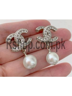 Chanel Pearl Drop Earings Price in Pakistan