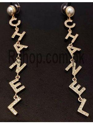 Chanel Drop Letter Earrings Price in Pakistan