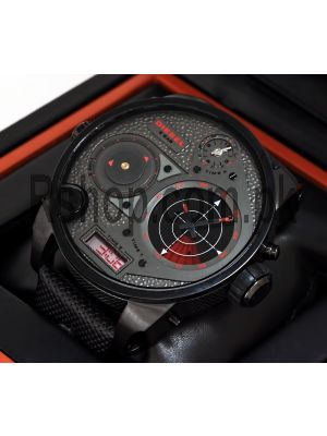 Diesel RDR Mr. Daddy 4 Time Zone Radar Display Chronograph Watch Price in Pakistan