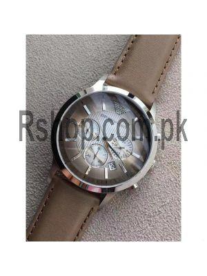 Emporio Armani Classic Chronograph Textured Degrade Chronograph Watch  Price in Pakistan