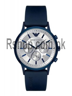 Emporio Armani Renato Silver Dial Men's Chronograph Watch Price in Pakistan