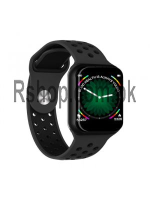 F8 Smart Watch Heart Rate Monitor Fitness Tracker Watch Smartwatch for iOS Android Price in Pakistan