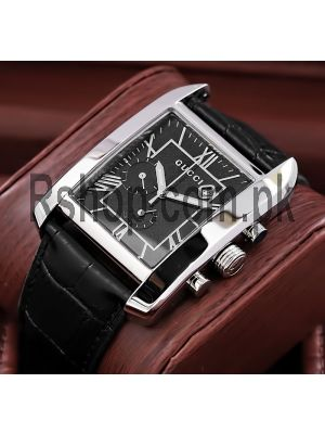 Gucci Chronograph Black Dial Watch Price in Pakistan