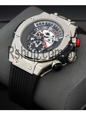 Hublot Big Bang Unico Bi-Retrograde Mat Black Dial Titanium Men's Watch Price in Pakistan