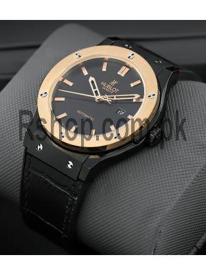 Hublot Classic Fusion Black Dial Watch Price in Pakistan