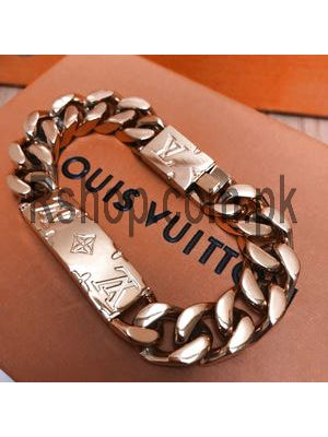Louis Vuitton Monogram Chain Bracelet ( High Quality ) Price in Pakistan