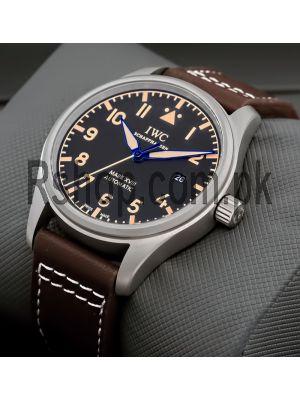 IWC Pilot's Mark XVIII Heritage Black Dial Watch Price in Pakistan