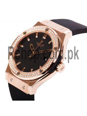 Hublot Classic Fusion Diamond Bezel Ladies Watch Price in Pakistan