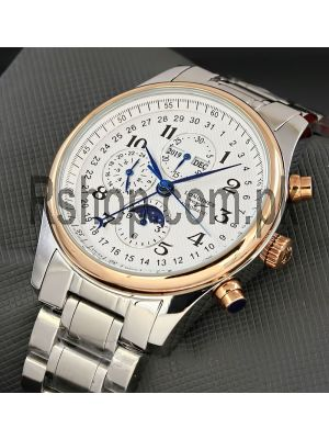 Longines Master Collection GMT Moonphase Men's Watch Price in Pakistan