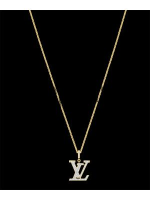 Louis Vuitton Idylle Blossom LV Pendant, Yellow Gold and diamond Price in Pakistan