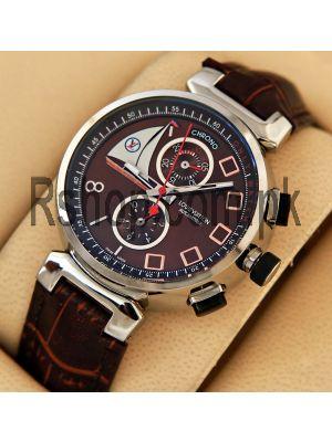 Louis Vuitton Tambour Spin Time Regatta Brown Watch Price in Pakistan