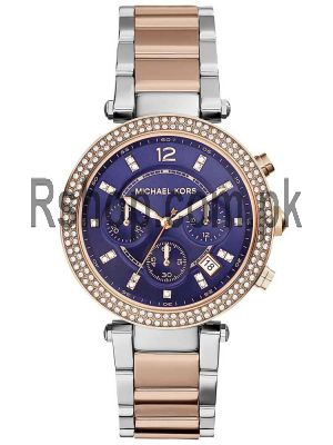 Michael Kors Women's MK6141 Parker Round Two-tone Bracelet Watch Price in Pakistan