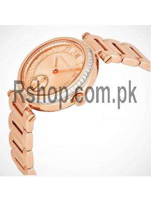 Michael Kors Skylar Rose Gold Dial Rose Gold-tone Ladies Watch Price in Pakistan