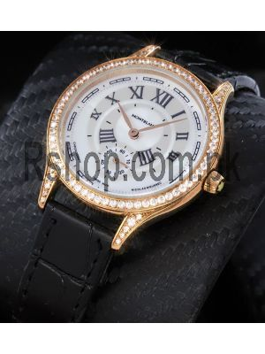 Montblanc Collection Villeret 1858 Seconde Authentique Ladies Watch Price in Pakistan