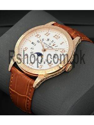 Patek Philippe Hand Engraved Watch Price in Pakistan