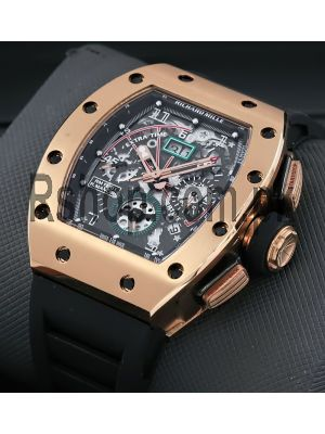 Richard Mille Rm 11-01-automatic Flyback Chronograph Watch Price in Pakistan