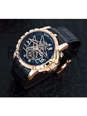 Roger Dubuis Excalibur Flying Tourbillon Black Watch Price in Pakistan