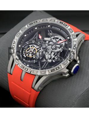 Roger Dubuis Excalibur Spider Skeleton Flying Tourbillon Watch Price in Pakistan